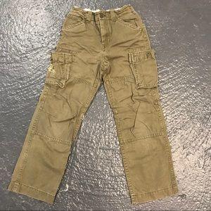 GAP Kids Khaki Cargo Cotton Pants - 12 Reg